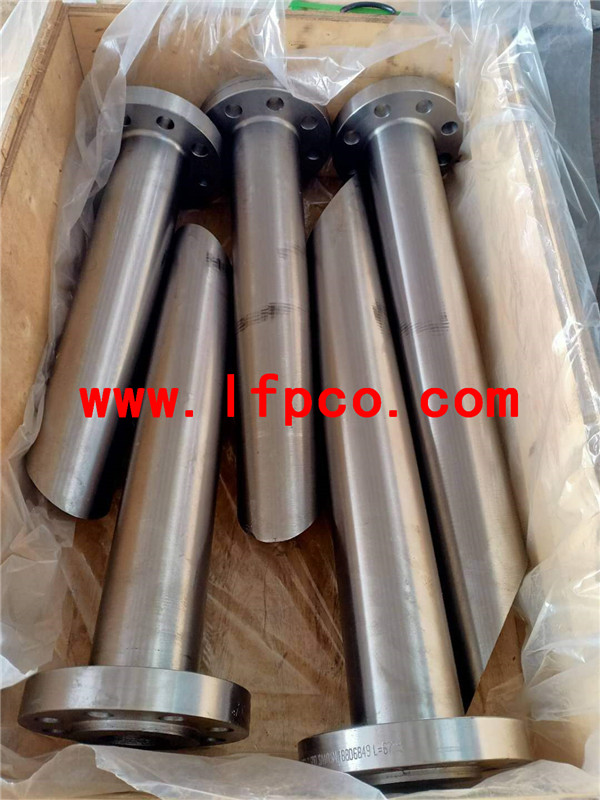 LWN (long weld neck) flanges and reinforced outlets